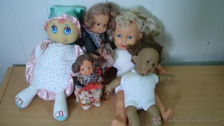 Muñecas Españolas Modernas: (nº60) lote de cinco muñecas - Foto 2 - 43640746
