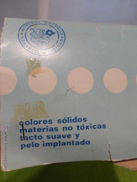Muñecas Españolas Modernas: ANTIGUA MUÑECA ESPAÑOLA DE PRIMERA COMUNIÓN MARCA ARLEQUÍN N SU CAJA ORIGINAL-BUEN ESTADO-AÑOS 50-60 - Foto 3 - 43985387