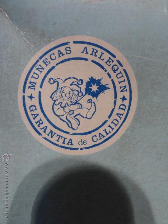 Muñecas Españolas Modernas: ANTIGUA MUÑECA ESPAÑOLA DE PRIMERA COMUNIÓN MARCA ARLEQUÍN N SU CAJA ORIGINAL-BUEN ESTADO-AÑOS 50-60 - Foto 4 - 43985387