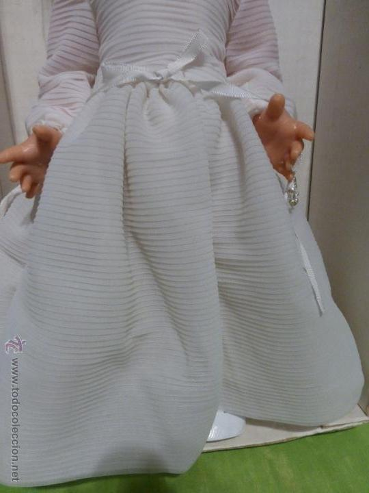 Muñecas Españolas Modernas: ANTIGUA MUÑECA ESPAÑOLA DE PRIMERA COMUNIÓN MARCA ARLEQUÍN N SU CAJA ORIGINAL-BUEN ESTADO-AÑOS 50-60 - Foto 11 - 43985387