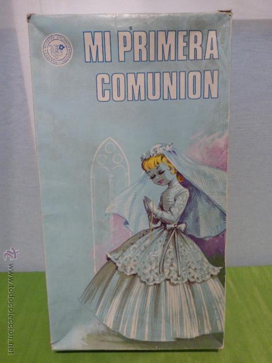 Muñecas Españolas Modernas: ANTIGUA MUÑECA ESPAÑOLA DE PRIMERA COMUNIÓN MARCA ARLEQUÍN N SU CAJA ORIGINAL-BUEN ESTADO-AÑOS 50-60 - Foto 13 - 43985387