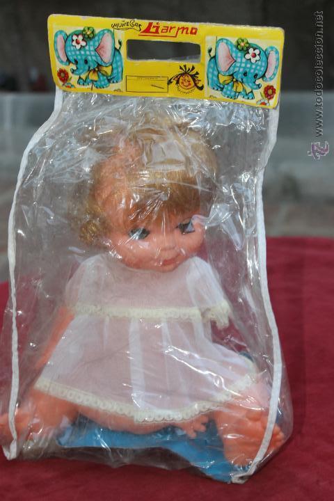 MUÑECA SENTADA GARMO AÑOS 70 (Juguetes - Otras Muñecas Españolas Modernas)
