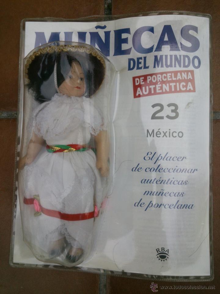 Muñecas Españolas Modernas: COLECCION MUÑECAS DEL MUNDO.RBA.TODA DE PORCELANA AUTENTICA EN BLISTER - Foto 2 - 45456582