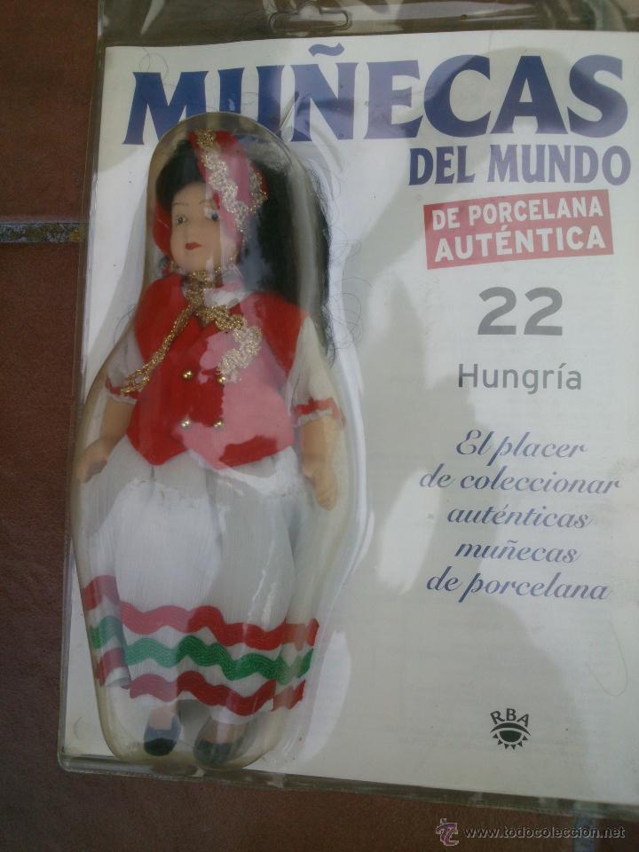 Muñecas Españolas Modernas: COLECCION MUÑECAS DEL MUNDO.RBA.TODA DE PORCELANA AUTENTICA EN BLISTER - Foto 3 - 45456582