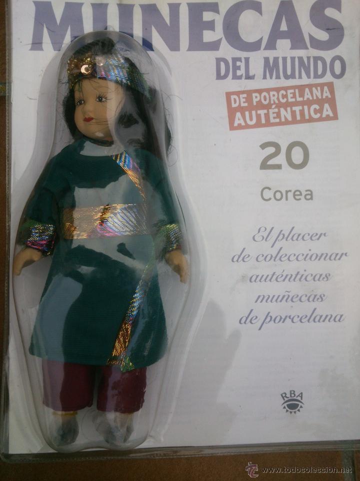 Muñecas Españolas Modernas: COLECCION MUÑECAS DEL MUNDO.RBA.TODA DE PORCELANA AUTENTICA EN BLISTER - Foto 4 - 45456582
