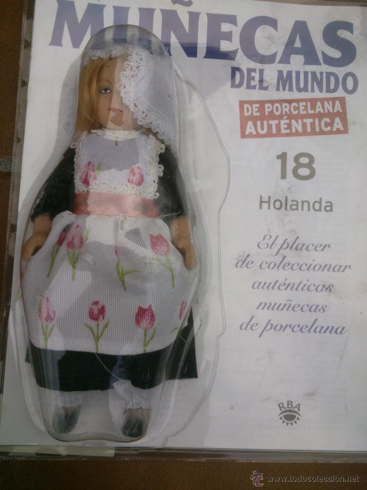 Muñecas Españolas Modernas: COLECCION MUÑECAS DEL MUNDO.RBA.TODA DE PORCELANA AUTENTICA EN BLISTER - Foto 5 - 45456582