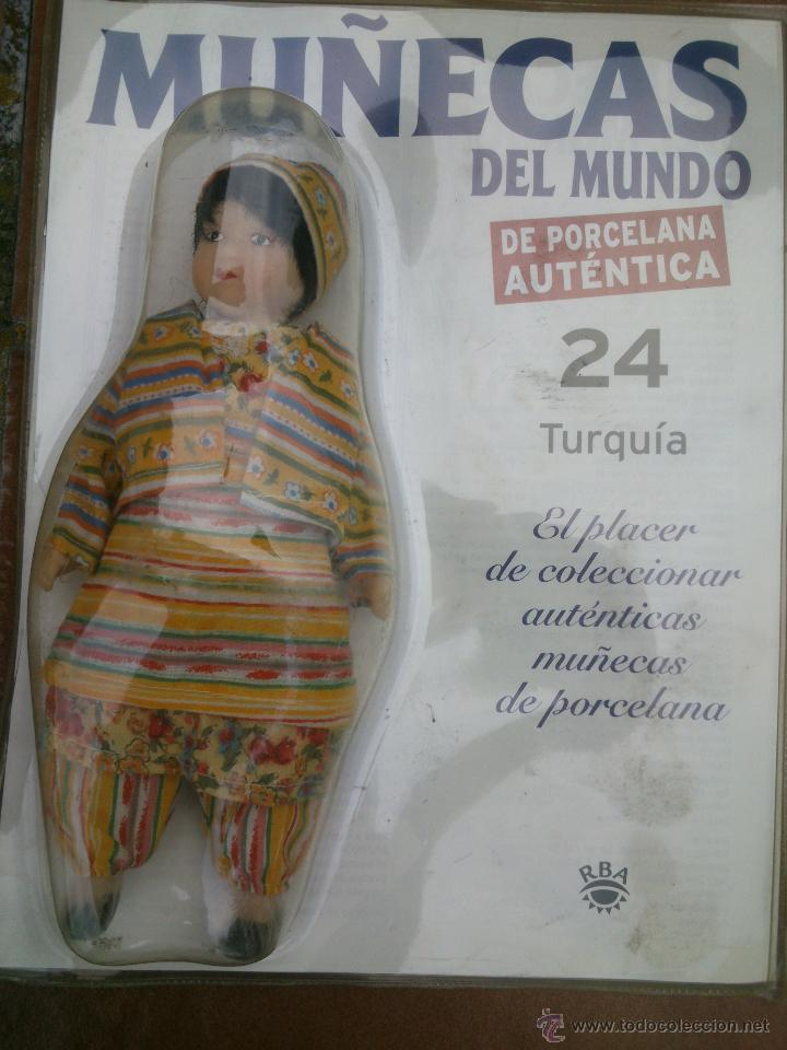 Muñecas Españolas Modernas: COLECCION MUÑECAS DEL MUNDO.RBA.TODA DE PORCELANA AUTENTICA EN BLISTER - Foto 6 - 45456582
