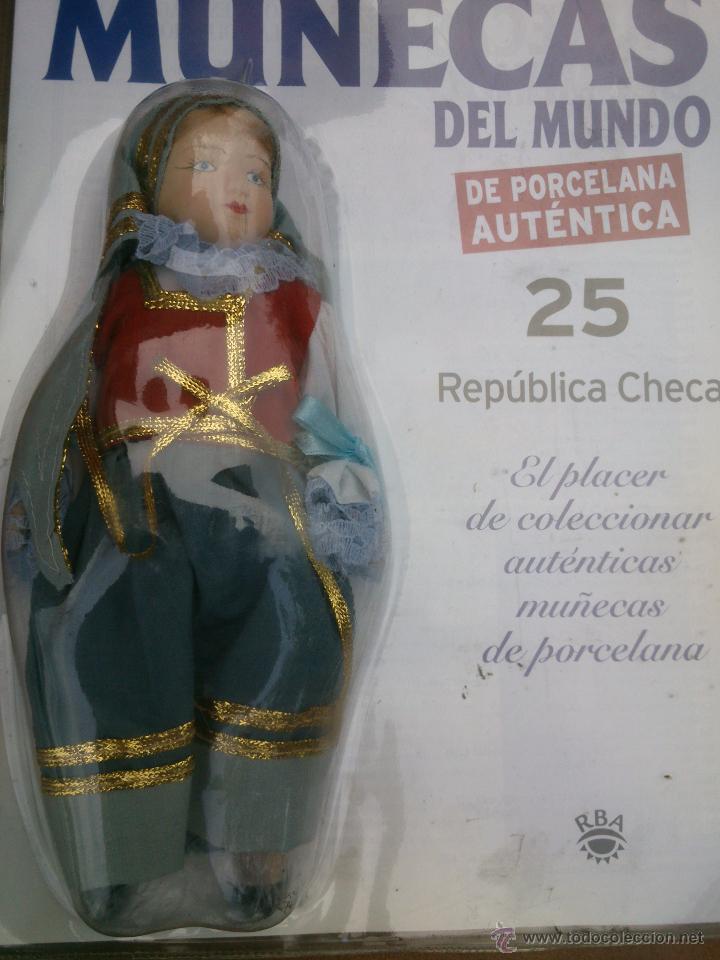 Muñecas Españolas Modernas: COLECCION MUÑECAS DEL MUNDO.RBA.TODA DE PORCELANA AUTENTICA EN BLISTER - Foto 7 - 45456582