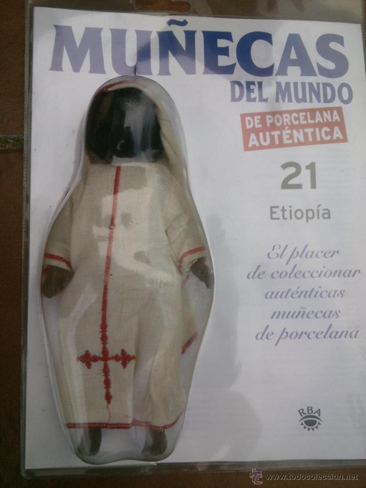 Muñecas Españolas Modernas: COLECCION MUÑECAS DEL MUNDO.RBA.TODA DE PORCELANA AUTENTICA EN BLISTER - Foto 8 - 45456582