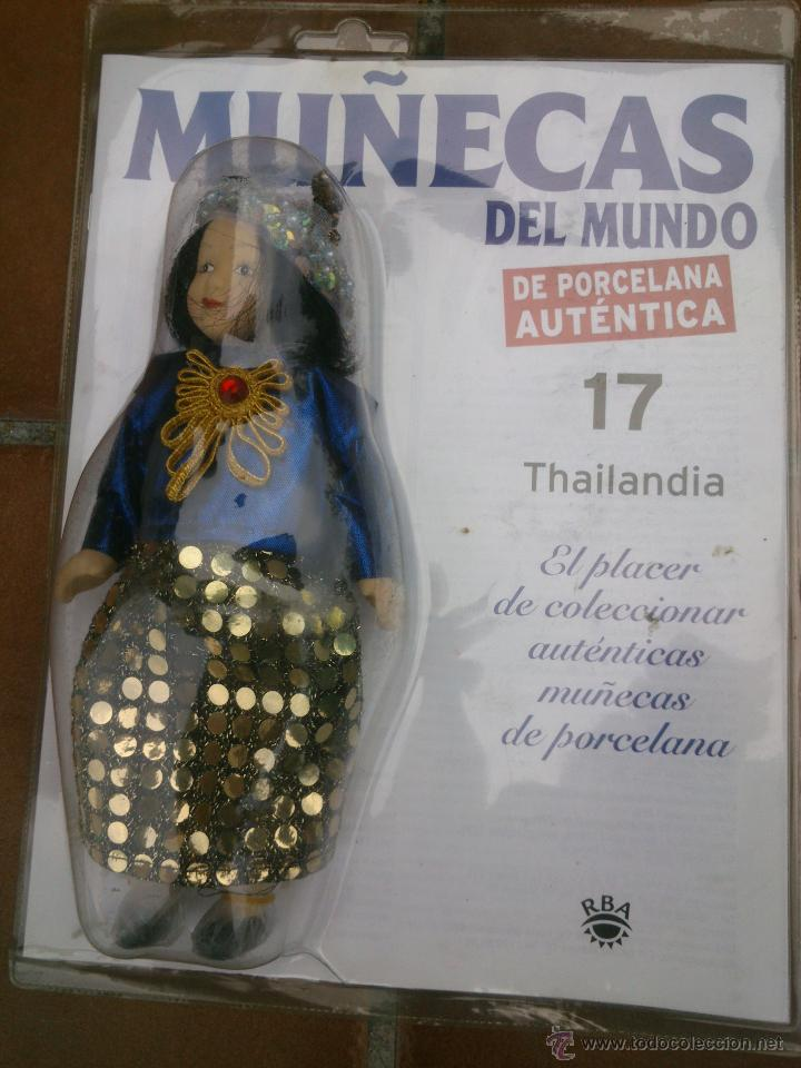 Muñecas Españolas Modernas: COLECCION MUÑECAS DEL MUNDO.RBA.TODA DE PORCELANA AUTENTICA EN BLISTER - Foto 9 - 45456582