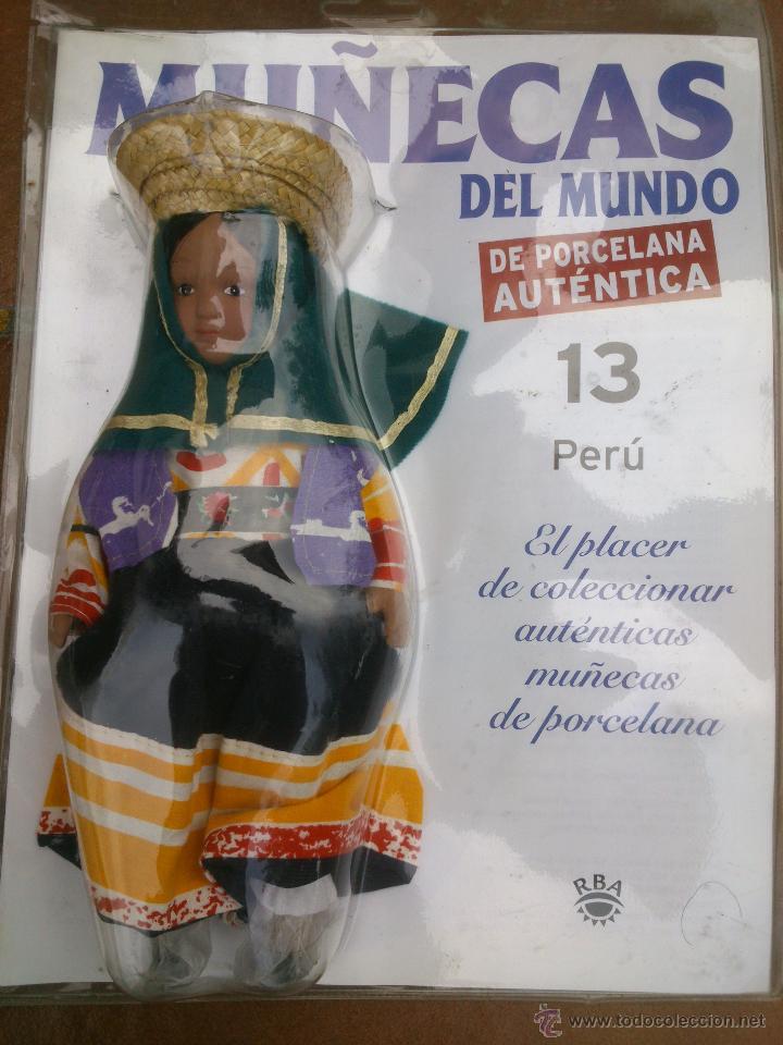 Muñecas Españolas Modernas: COLECCION MUÑECAS DEL MUNDO.RBA.TODA DE PORCELANA AUTENTICA EN BLISTER - Foto 11 - 45456582