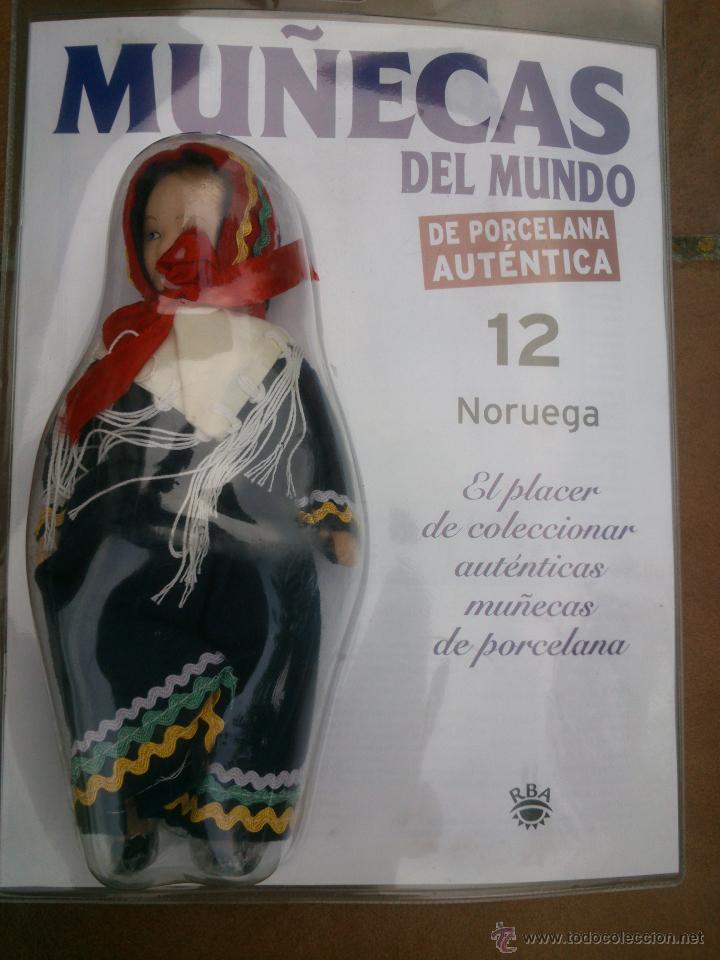 Muñecas Españolas Modernas: COLECCION MUÑECAS DEL MUNDO.RBA.TODA DE PORCELANA AUTENTICA EN BLISTER - Foto 12 - 45456582