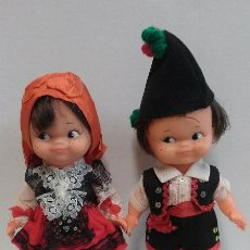Muñecas Españolas Modernas: MUÑECAS - PAREJA MUÑECOS REGIONALES. Lote 45643537