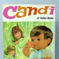 Muñecas Españolas Modernas: CANDI EL BEBÉ LISTO MUÑECO TOYSE EN SU CAJA NUEVO AÑOS 70. Lote 46251228