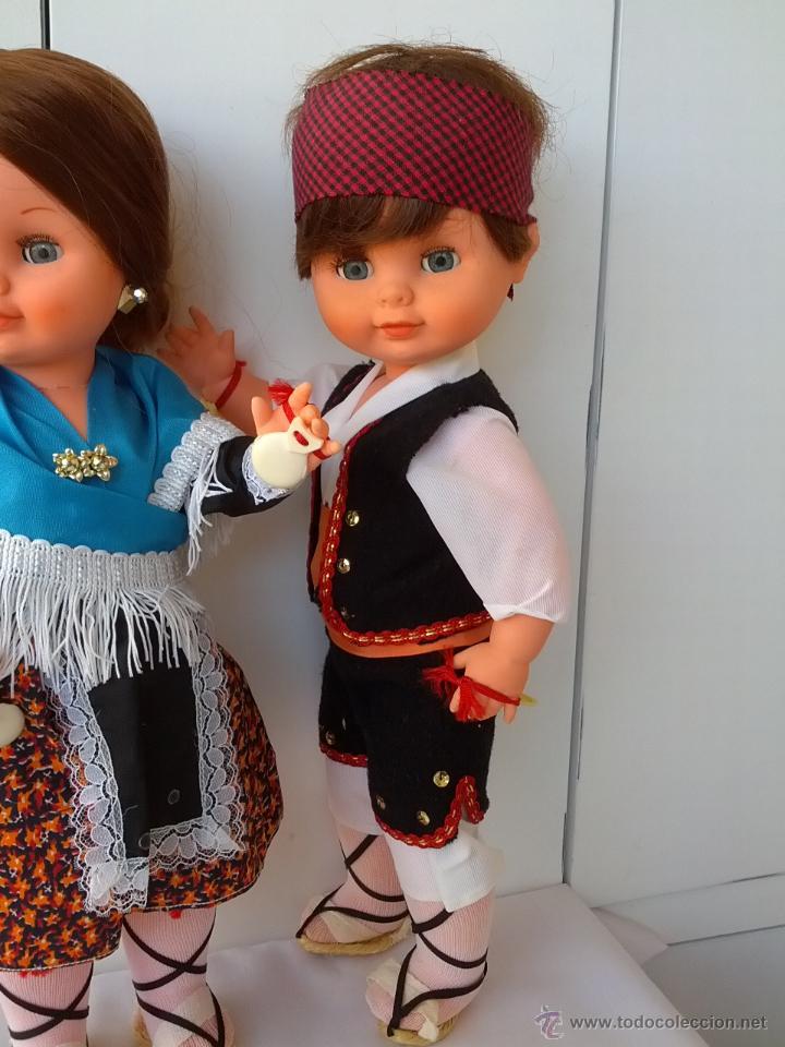 Muñecas Españolas Modernas: PAREJA DE MUÑECOS REGIONALES ARAGONESES DE TOYSE 40 CM AÑOS 70 - Foto 5 - 46591305