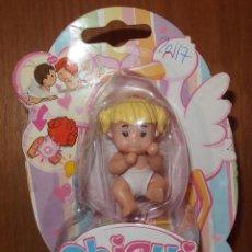 Muñecas Españolas Modernas: CHIQUI BABY BORN NIÑA RUBIA CON COLETAS,ZAPF CREATION,2010,BLISTER,A ESTRENAR. Lote 46793470