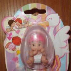 Muñecas Españolas Modernas: CHIQUI BABY BORN,NIÑO CON PELO ROSA,CAJA ORIGINAL,ZAPF CREATION,2010,A ESTRENAR. Lote 46793646