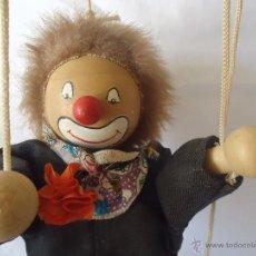 Muñecas Españolas Modernas - Antigua marioneta PAYASO made in spain - 47021137