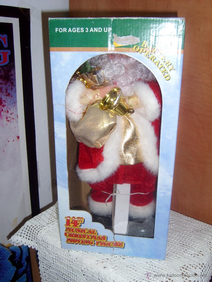 Fotos Simpaticas De Papa Noel.Simpatico Muneco Papa Noel Con Musica De Jingle Sold At