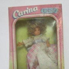 Muñecas Españolas Modernas: MUÑECA CARINA FLEXY, DE VICMA, EN CAJA. CC. Lote 47276719
