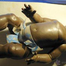 Muñecas Españolas Modernas: BONITA MUÑECA NEGRITA AÑOS 60 CABEZA GOMA Y CUERPO CELULOIDE. Lote 50939479