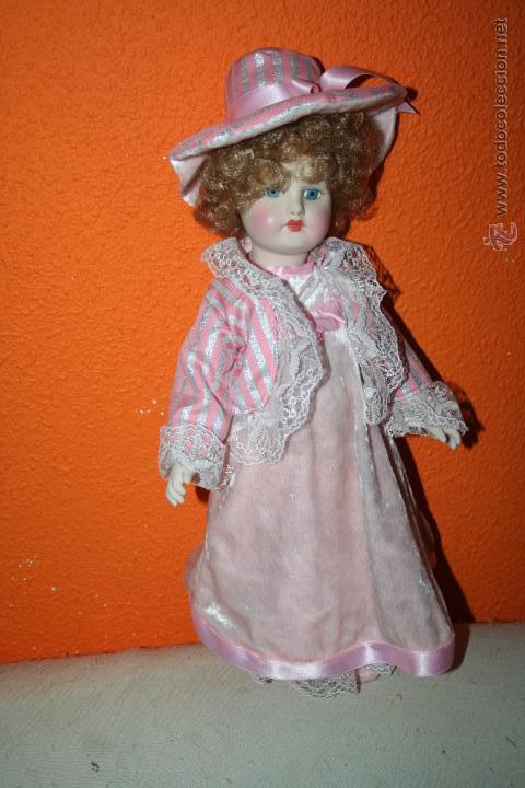 Muñecas Españolas Modernas: muñeca de ramon ingles porcelana - Foto 3 - 47437637