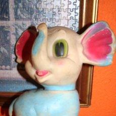 Muñecas Españolas Modernas: ANTIGUO MUÑECO ELEFANTE MARCA JUGASA. Lote 47787604