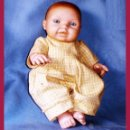 Muñecas Españolas Modernas: MUÑECO MAGIC BABY DE MARIA RICO&PEP CATALA 1999, TODO DE GOMA Y BOCA ENTREABIERTA CON 2 DIENTES.. Lote 48316545