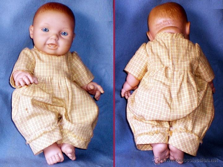 Muñecas Españolas Modernas: Muñeco Magic Baby De Maria Rico&Pep Catala 1999,todo de goma y boca entreabierta con 2 dientes.42 cm - Foto 2 - 48316545