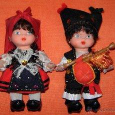 Muñecas Españolas Modernas: PAREJA DE MUÑECOS REGIONALES. Lote 50630649