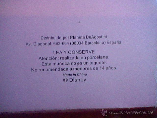 Muñecas Españolas Modernas: princesa Disney porcelana en caja - Foto 3 - 52554997