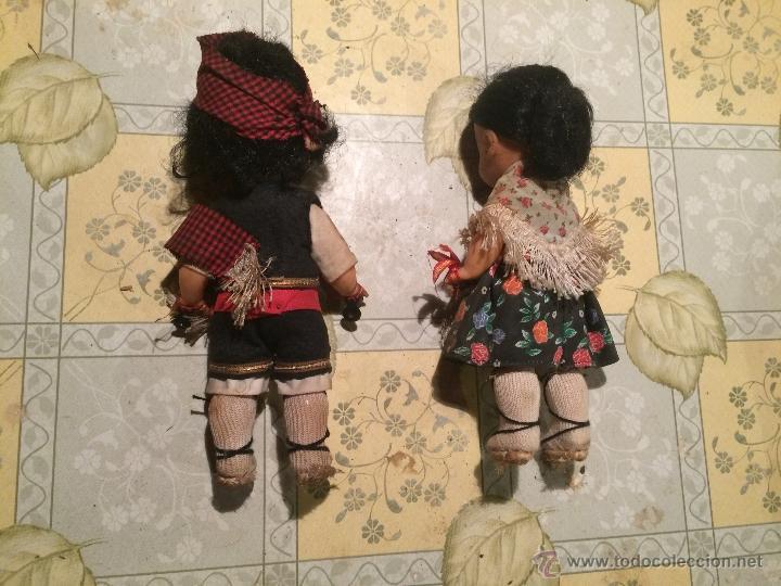 Muñecas Españolas Modernas: antiguas muñecas regionales catalanas con vestimenta regional. muñeco y muñeca - Foto 4 - 52748324