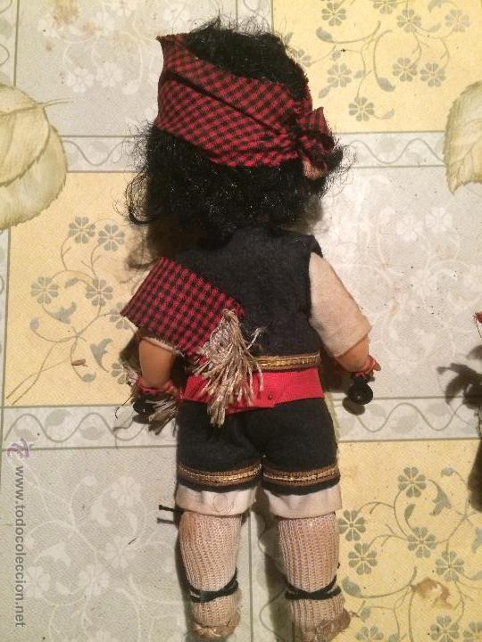 Muñecas Españolas Modernas: antiguas muñecas regionales catalanas con vestimenta regional. muñeco y muñeca - Foto 5 - 52748324