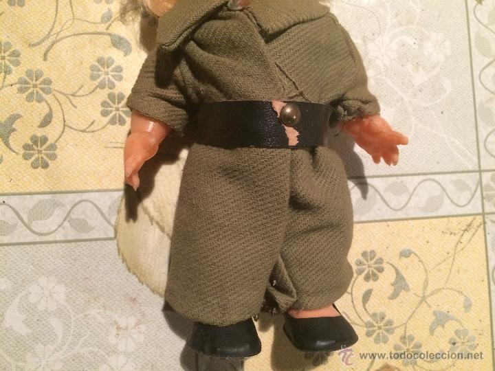 Muñecas Españolas Modernas: antiguo muñeco vestido de militar legionario, legión española. antigua muñeca - Foto 3 - 52748369