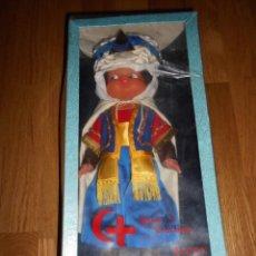 Muñecas Españolas Modernas: MUÑECO AÑOS 70 DE MOROS Y CRISTIANOS ALCOY ALICANTE CAJA NUEVO . Lote 160267186