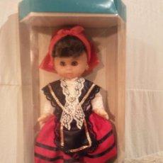 Muñecas Españolas Modernas: MUÑECA TRAJE REGIONAL GALICIA. FINALES DE LOS AÑOS 80.. Lote 53186363
