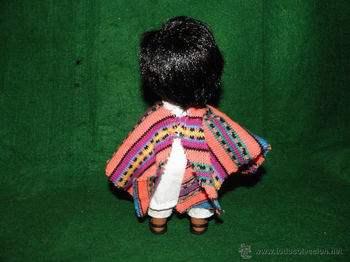 Muñecas Españolas Modernas: MUÑECA DE FEBER COLECCION PUEBLOS DEL MUNDO - UNICEF - 1992 - Foto 2 - 53204155