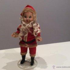 Moderne spanische Puppen - Muñeca cara de casco,vestida de Papa Noel - 53396556