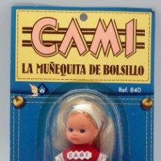 Poupées Espagnoles Modernes: CAMI BB BERJUSA LA MUÑEQUITA DE BOLSILLO NUEVA EN BLISTER AÑOS 80. Lote 265784384
