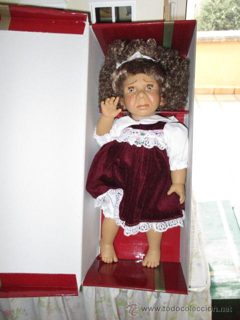 Muñecas Españolas Modernas: MUÑECA GESTITOS - DISGUSTO EN ROJO - 35 cm. - CREACIONES LLOPIS, BANYERES, ALICANTE - Foto 3 - 53567352