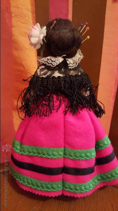 Muñecas Españolas Modernas: muñeca con vestido tradicional y cruz - Foto 3 - 53731965