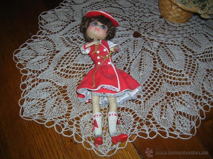 Muñecas Españolas Modernas: Preciosa muñeca de trapo vestida muy elegante - Foto 2 - 54510942