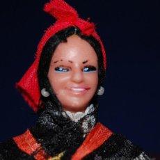 Muñecas Españolas Modernas: MUÑECA REGIONAL GALLEGA AÑOS 60. Lote 54580826