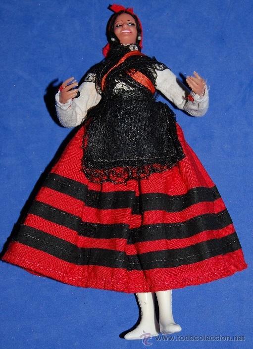 Muñecas Españolas Modernas: MUÑECA REGIONAL GALLEGA AÑOS 60 - Foto 2 - 54580826