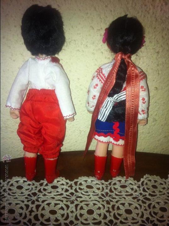 Muñecas Españolas Modernas: PAREJA DE MUÑECOS DE PLASTICO MIDEN 24 CM - Foto 3 - 54598857
