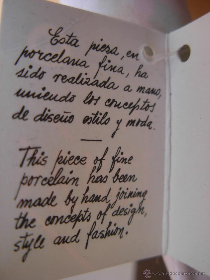 Muñecas Españolas Modernas: Muñeca de porcelana fina marca Fanás. Conserva la caja original. Años 80 - Foto 7 - 54640137