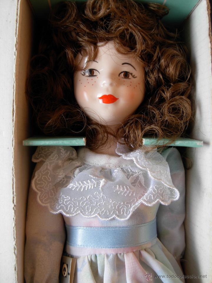 Muñecas Españolas Modernas: Muñeca de porcelana fina marca Fanás. Conserva la caja original. Años 80 - Foto 8 - 54640137