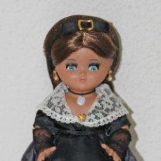 Muñecas Españolas Modernas: MU049 LINDA PIRULA. TRAJE REGIONAL. ALBA. 25 CM. ESPAÑA. AÑOS 60. Lote 52499687