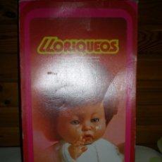 Muñecas Españolas Modernas: PRECIOSO LLORIQUEOS DE VICMA AÑOS 70 NUEVO SIN USO LLORA DE VERDAD. Lote 55359096