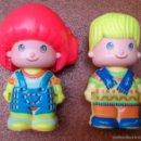 Muñecas Españolas Modernas: FIGURA PINYPON PIN Y PON FAMOSA AÑOS 80 PAREJA, LOTE 4. Lote 155846138